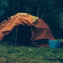 Schwitzhütte bei Wild and Home for Men