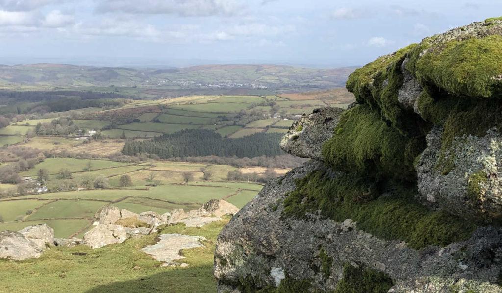 Visionssuche in Dartmoor, England