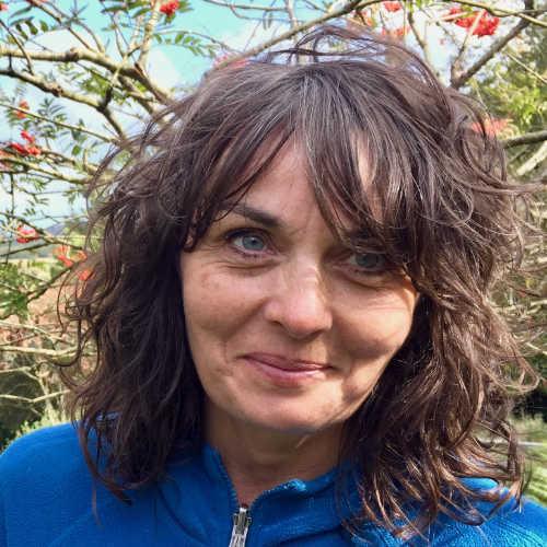 Visionssucheleiterin Natalie Vickers