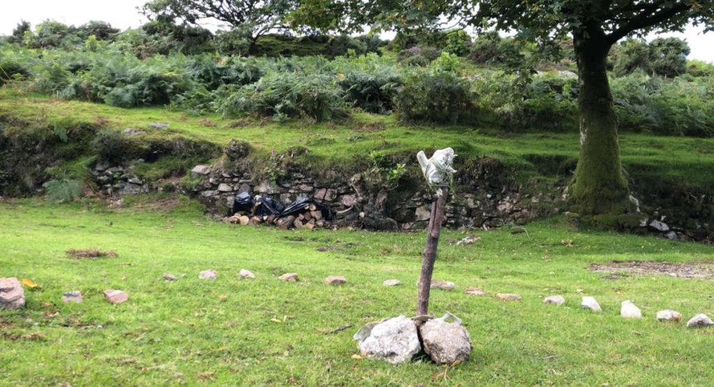 Visionssuche 2020 Dartmoor England Schwellenkreis